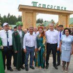 Президент Татарстана принял участие во Всероссийском сельском Сабантуе в Курганской области