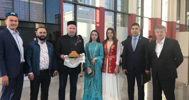 Василь Шайхразиев прибыл с рабочим визитом в Казахстан