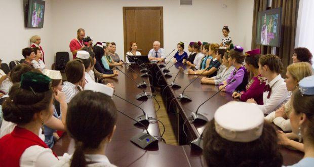 ФОТОРЕПОРТАЖ: «Татар-кызы» конкурсына багышланган пресс-конференция