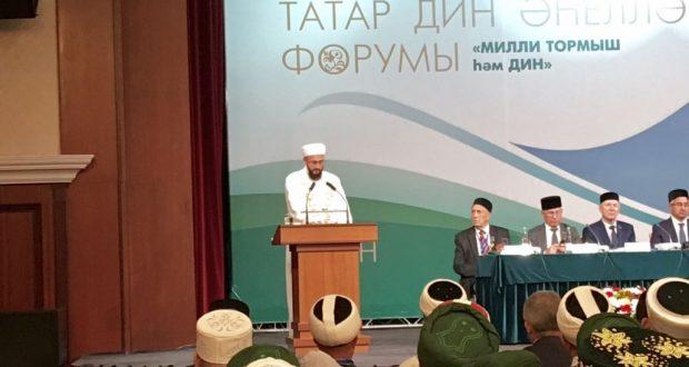 Камил хәзрәт Самигуллин: Динне, татар мәдәниятен һәркем популярлаштырырга тиеш