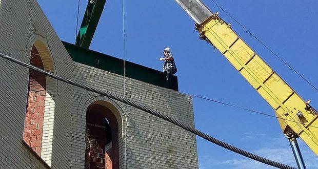Строительство Сызранской Соборной мечети ведется ударными темпами!