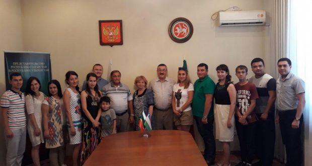 Слова напутствия делегатам Республики Узбекистан на предстоящем VIII Всемирном форуме татарской молодежи