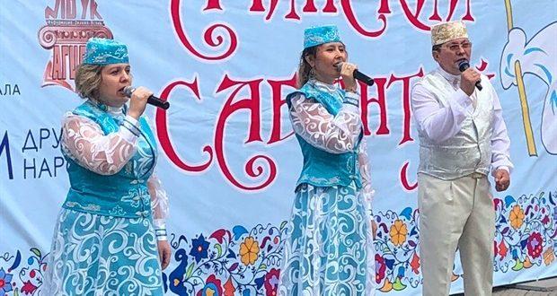 В Ачинске «Сабантуй» собрал тысячу гостей