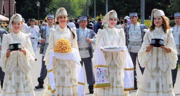 Впервые на территории Пресненского района города Москвы отмечают Сабантуй