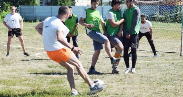 Футбол в Рыбушкине