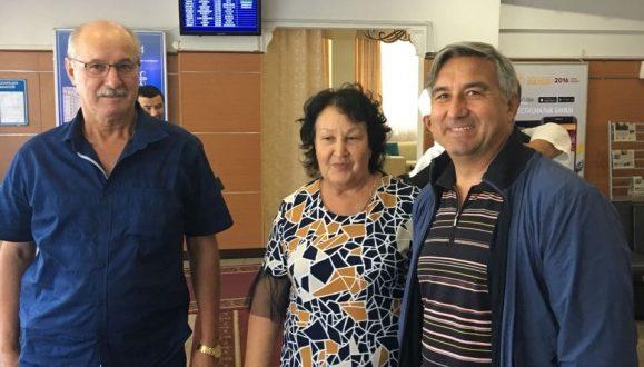 Васил Шәйхразиев Кыргызстан Республикасында яшәүче татарлар белән очраша