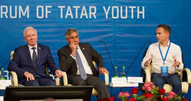 ФОТОРЕПОРТАЖ: VIII Бөтендөнья татар яшьләре форумының пленар утырышы