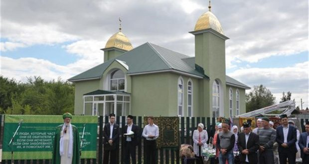 В Самарской области состоялось торжественное открытие мечети