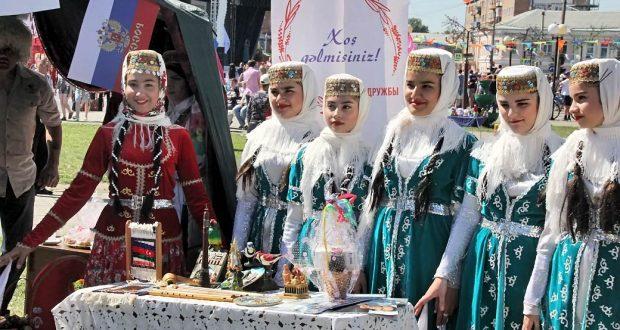 В Краснодарском крае в городе Канск угощали блюдами татарской кухни