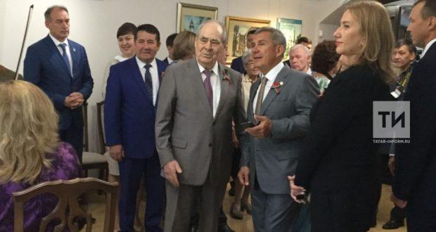 Rustam Minnikhanov visited the G. Tukay Literary Museum after repair and restoration works