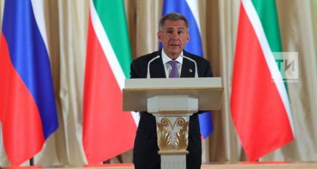 Президент Татарстана обратится с ежегодным посланием к парламенту 24 сентября