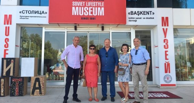 Ravil Akhmetshin took part in the opening of the exposition about Tatarstan in Antalya