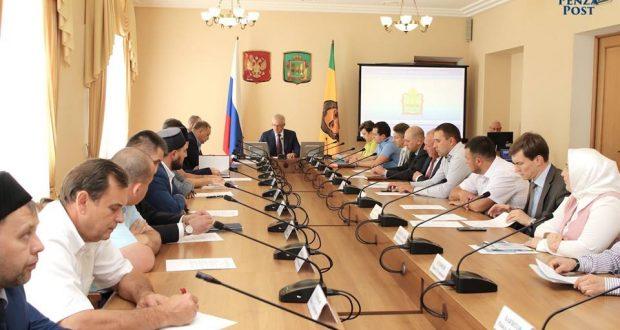 Правительство Пензенской области рассчитывает на помощь татарской национально- культурной автономии