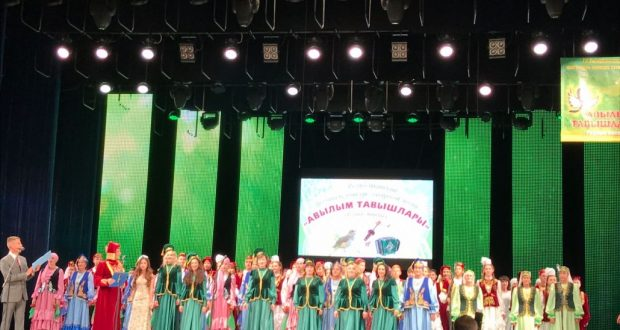 In Saransk a holiday of the Tatar song  held