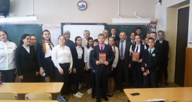 Scientists-historians have met with collective of the Tatar grammar school