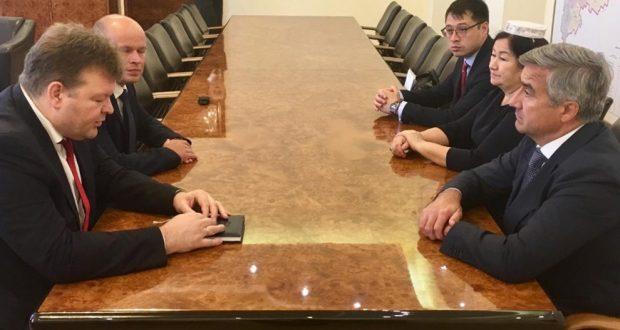 Председатель Национального совета встретился с руководителем администрации главы Республики Коми