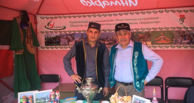 Калининград өлкәсенең Зеленоградск шәһәрендә татарлар милли тирмә корган
