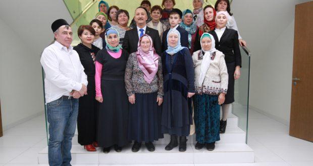 Татар конгрессы Башкортстаннан кунаклар кабул итте