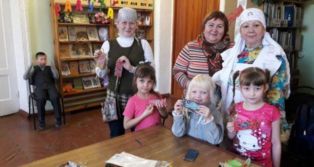 Активистки ассоциации татарских женщин Челябинской области провели мастер-класс с детьми