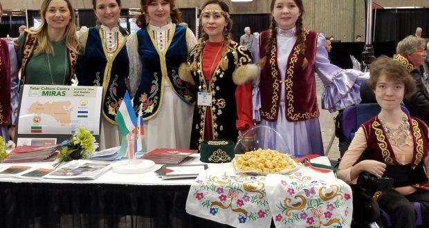 МИРАС татар мәдәни үзәге Канадада Татарстан һәм Башкортостан мәдәниятен халыкара туристик фестивальда тәкъдим итте