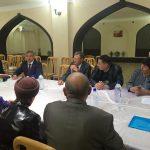 Василь Шайхразиев встретился с татарами Бухарской области
