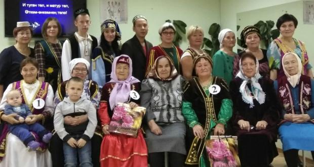 В городе Ухта Республике Коми прошел конкурс «Чибәр әбиләр» («Красивые бабушки»)