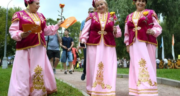 Коломенские татары приняли участие в организации и проведении Областного фестиваля художественного творчества