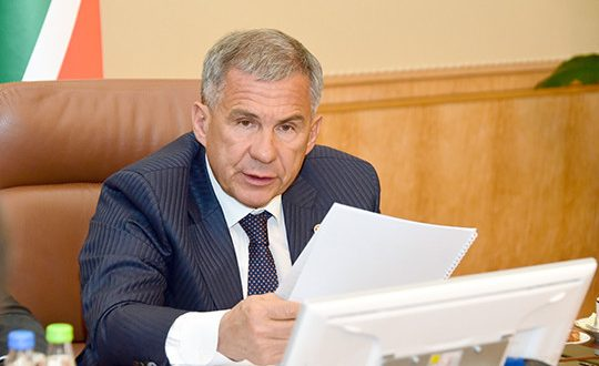Minnikhanov rebuked the Russian government in the absence of specifics on national projects