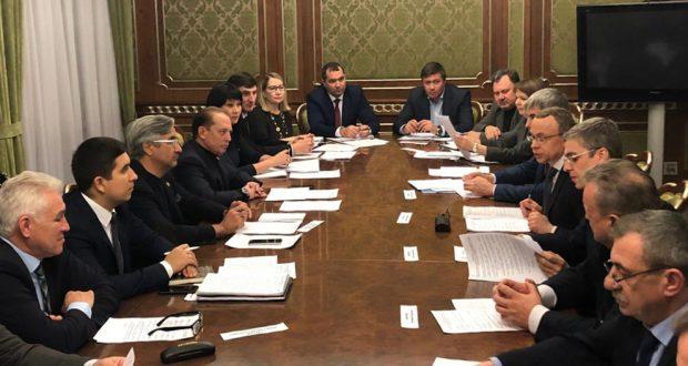 Васил Шәйхразиев Новосибирк өлкәсе губернаторының беренче урынбасары белән очрашты