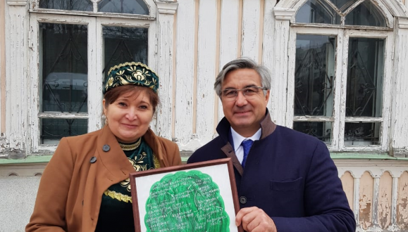 Chairman of the National Council met with the descendants of Agafurovs