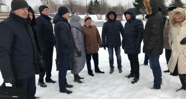Татарстан делегациясе Новосибирскта үтәчәк Федераль Сабан туе мәйданын карады