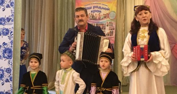 Ульяновск шәһәрендә балалар бакчасында «Уйна, халкым гармуны!» бәйрәме узды