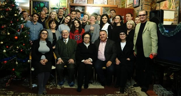 В «Штабе татар Москвы» прошла творческая встреча с актерами театра Г. Камала