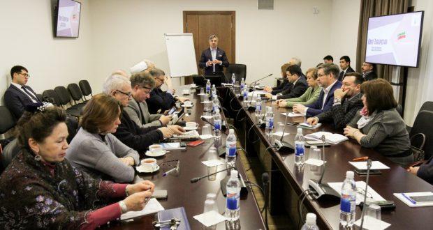ФОТОРЕПОРТАЖ: Татар халкының үсеш стратегиясенә багышланган утырыш
