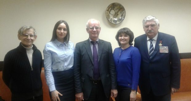 Meeting with local historians of Moscow