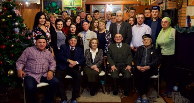 """Moscow writers at the """"Headquarters of the Tatars"""" presented new books in the Tatar language"""