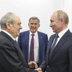 Путин Шәймиевкә Татарстан үсешенә керткән өлеше өчен рәхмәт белдерде